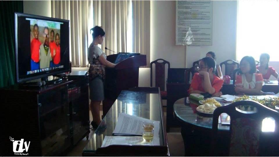 Luyện Giọng nói hay, khỏe, truyền cảm đến với thầy cô giáo Trường Tiểu học Thịnh Liệt.
